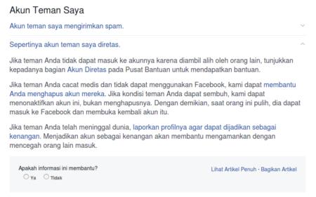 Cara Amankan Akun Facebook